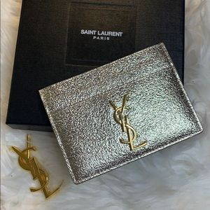 Authentic YSL Limited Edition Card Holder
